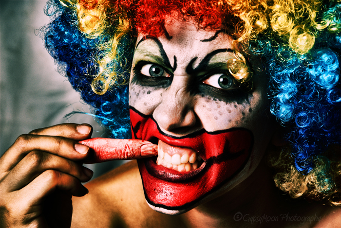 Evil clown Shoot